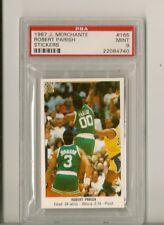 PSA 9 1987 J. Merchante Sticker Robert Parish (Celtics) #165 --- POP. 1
