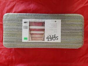 "Natco Soft Step Carpet Stair Treads Brown- Grey 8"" x 18"""