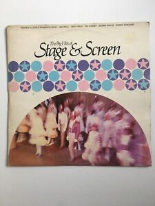 STAGE & SCREEN Big Hits by Various Artists - LP 1972 RDS 6929 Barbra Streisand