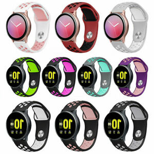 For Samsung Galaxy Watch Active Silicone Wrist Smart Sports Band Strap Bracelet