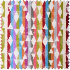 Telas y tejidos geométricos color principal multicolor para costura y mercería
