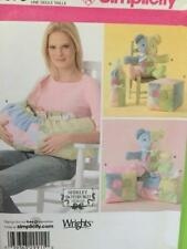 Simplicity Sewing Pattern 4075 Baby Infant Accessories Bear Block Carrier Uncut