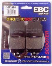 SYM GTS 125 / 250 Joymax (2006 to 2014) EBC Organic FRONT Brake Pads (SFA355/4)
