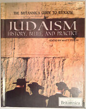 New!  JUDAISM History, Belief, and Practice HARDCOVER Britannica Guide Religion