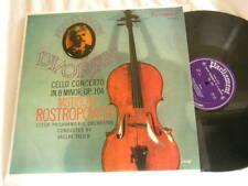 DVORAK Cello Concerto MSTISLAV ROSTROPOVICH Vaclav Talich Parliament LP