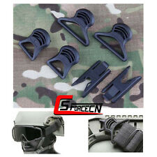Emerson Fast Helmet Rail Goggles Swivel Clips Accessories Hunting Tactical Black