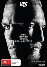 UFC #202 - McGregor Vs Diaz 2 (DVD, 2016, 2-Disc Set) Region 4