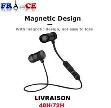 Headset headphone stereo bluetooth 4.2 sports in-ear wireless headset