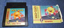 Pac-Man Tengen Black Cart (Nintendo Entertainment System, 1990)