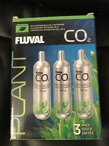 Fluval pressurised CO2 disposable canister 95g 3 pack - Brand New