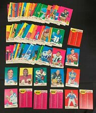 1969 TOPPS FOOTBALL CARD LOT (100+/-) W/STARS MOSTLY EX-EXMT RANGE