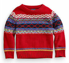 Boys' Fair Isle/Nordic Jumpers & Cardigans (0-24 Months)