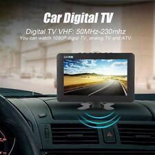 9 Zoll TFT LCD Tragbar Mini TV DVB-T/T2 ATV Digital Analog Fernseher für Auto