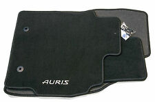 Genuine Toyota Auris Car Textile Floor Carpet Mat Set 2010>2012 Anthracite New
