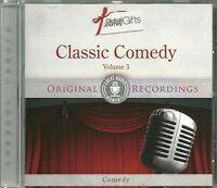 CLASSIC COMEDY VOLUME 3 - COMEDY CD - ORIGINAL RECORDINGS
