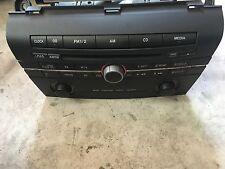 Mazda 3 3BK Radio CD Player Audio Media BS4G66AR0