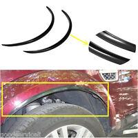 Black Universal Car Fender Flare Wheel Eyebrow Protector Anti-Scratch Sticker