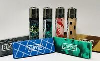 Clipper Limited Edition Lighters - Matching Rolling Papers - Exclusive Rare Sets