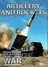 WEAPONS OF WAR: Artillery And Rockets DVD + BOOK WORLD WAR TWO WWII BRAND NEW R0
