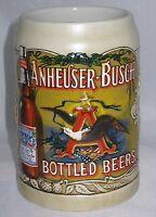 Budweiser, Bottled Beer, N3292 COA Ceramarte, Beer Stein