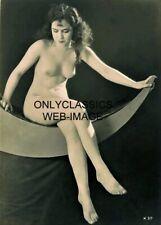 1920's XAN STARK PINUP ON PAPER MOON STUDIO 5X7 PHOTOGRAPH CHEESECAKE ART DECO