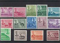 Mauritius SG276/89 1950Set to 5R M/M