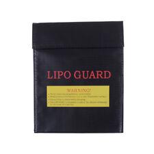 18x23 cm LiPo Polymer Battery Protective Bag Black C&H