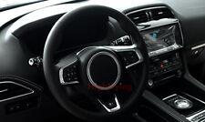 For Jaguar XE X760 2015 2016 Interior steering wheel trim cover ring 1pcs