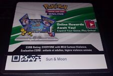 2x Sun and Moon Booster Pack Codes -Pokemon TCG online code card - Fast Receive