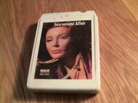 """International Affair"" 8 track tape Various Artists"