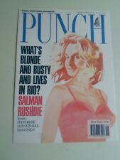 SALMAN RUSHDIE PC Punch Magazine Cover 8th December 1989 Steven Goodall  §A2179