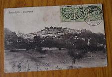 CARTOLINA FERMO AMANDOLA PANORAMA VIAGGIATA 1926 SUBALPINA YY
