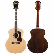 Guild F-512 12-string Acoustic Guitar Natural