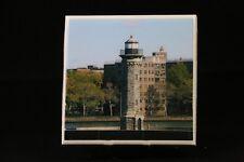 Ceramic Tile Coasters, Photo Tile Coasters, photos, homemade, Brown Lighthouse