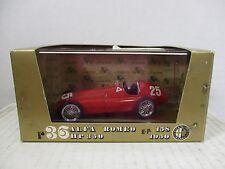 1/43 SCALE BRUMM RED 1950 ALFA ROMEO GP 158