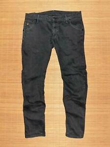 jean G-STAR arc 3D slim coj en coton mélangé noir taille 36/32 us ou 46 Fr