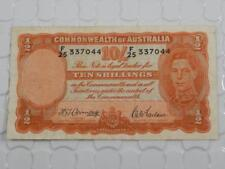 Commonwealth Bank of Australia 10 Shillings Note Armitage McFarlane P 25 P0085