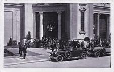 2739) MILANO FIERA CAMPIONARIA 1928 VISITA DEL RE.