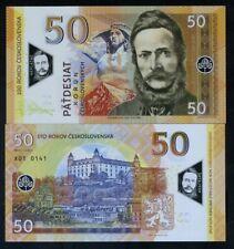 Czechoslovakia, 50 Korun, 2019, Private issue Polymer, UNC - Commemorative