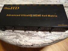 New listing ViewHd Prosumer Ultra Hd Hdmi True Matrix 4X2 Support 4K | Arc | Advanced Audio