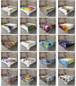 Ambesonne Colorful Print Flat Sheet Top Sheet Decorative Bedding 6 Sizes