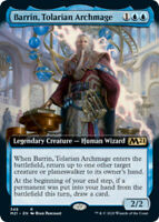 Barrin, Tolarian Archmage - Foil - Extended Art x1 Magic the Gathering 1x Magic