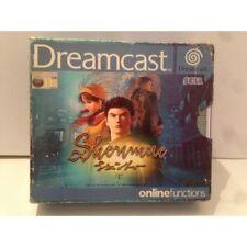 Shenmue Sega Dreamcast Pal