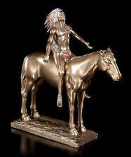 Indio Figura sobre caballo - Appeal To EL GRANDE Spirit - CACIQUE schamane
