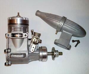 FOX 40 RC Glow Nitro Model Airplane engine with Muffler