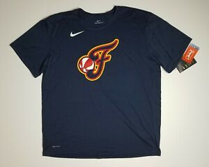 Nike Indiana Fever WNBA men's short sleeve graphic logo athletic tee sz XXL NEW
