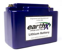 EarthX Lithium Battery  Powerful, Lightweight 320 Cranking Amps 3.9lbs  - ETX36C