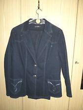 TONI Hose Jacke GOLLEHAUG Shirt Schal Jeans 44/42 4-teilig silber blau Super TOP