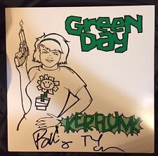 "Green Day BILLIE JOE ARMSTRONG/TRE COOL Dual Signed ""KERPLUNK""  Vinyl  Album BAS"