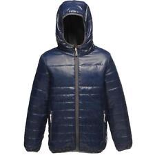 Kids Regatta Boys Girls Stormforce Thermal Jacket Coat - Tra454 Navy 11-12 Years